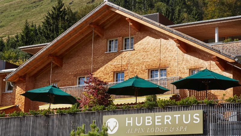 Die Hubertus Alpin Lodge & Spa in Balderschwang